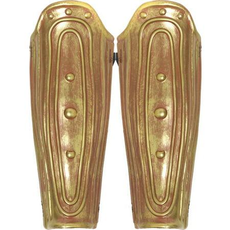 Armour Roman Leg (2-Piece Roman Leg Armor Set Adult Halloween Accessory )