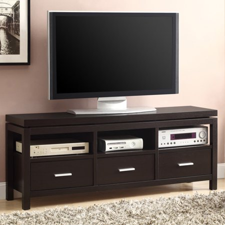 Coaster Cappuccino Transitional Style TV Console for TVs up to 60″