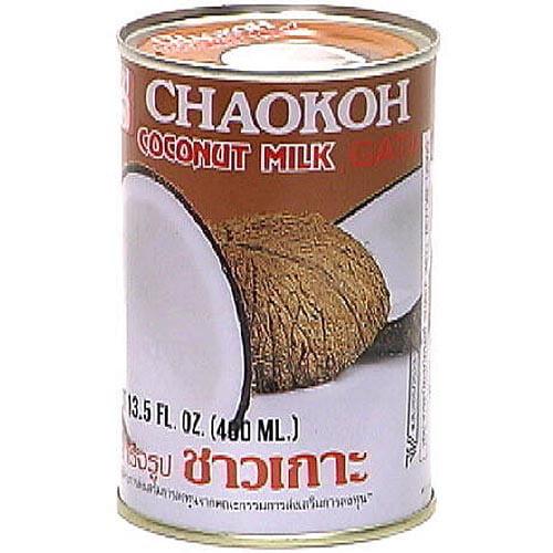 Chaokoh Coconut Milk, 13.5 oz (Pack of 24)
