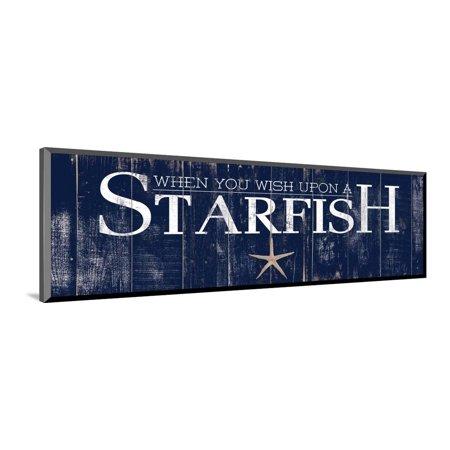 - Starfish Wood Mounted Print Wall Art By Elizabeth Medley