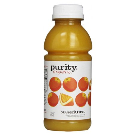 Purity Organic Juice 100% Orange Juice 12 Ounce Plastic Bottle - Pack of 12 ()