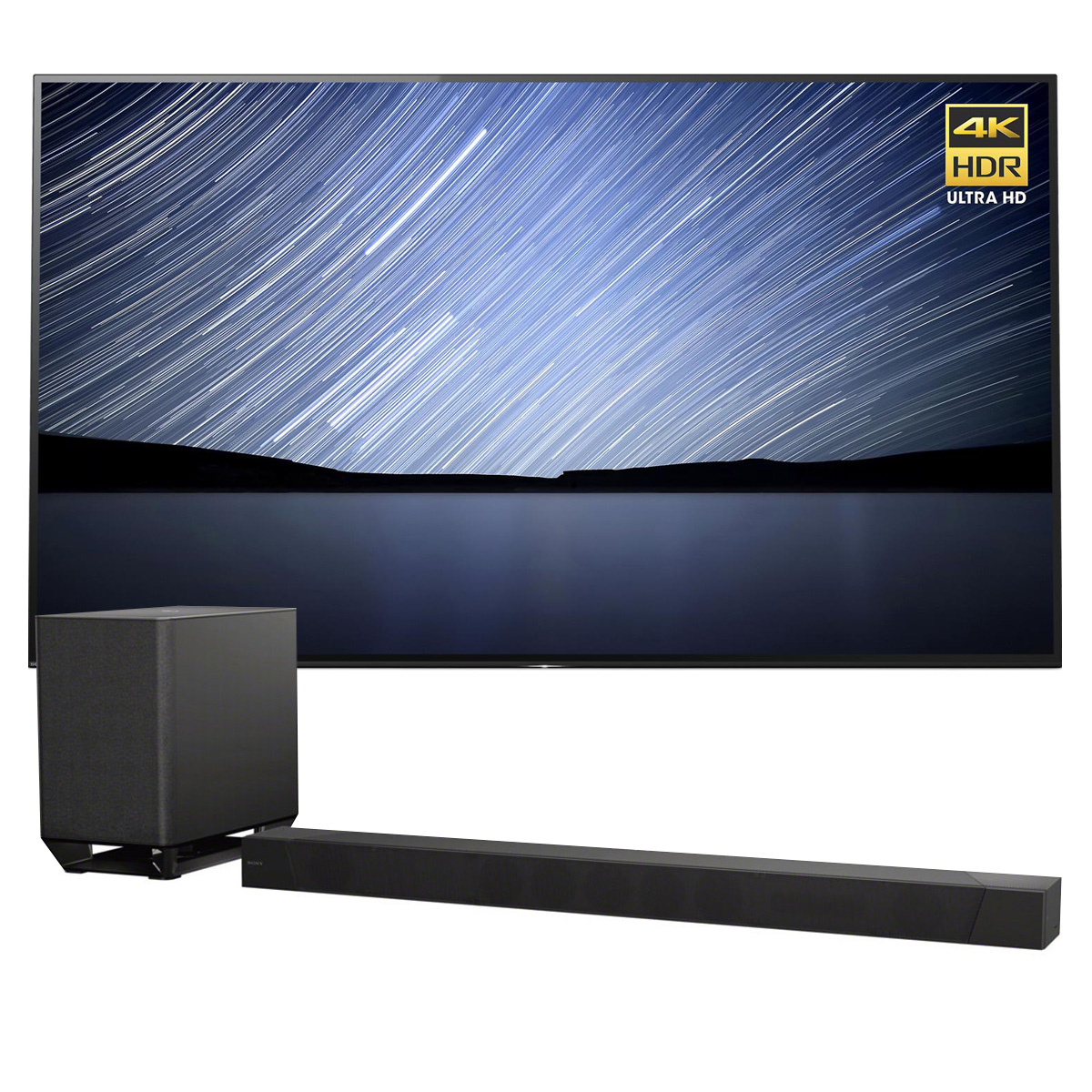 "Sony XBR-65A1E 65"" Bravia OLED 4K UHD HDR TV with HT-ST50..."