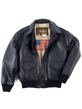 Product Image Men s Air Force A-2 Leather Flight Bomber Jacket 35a306cb481
