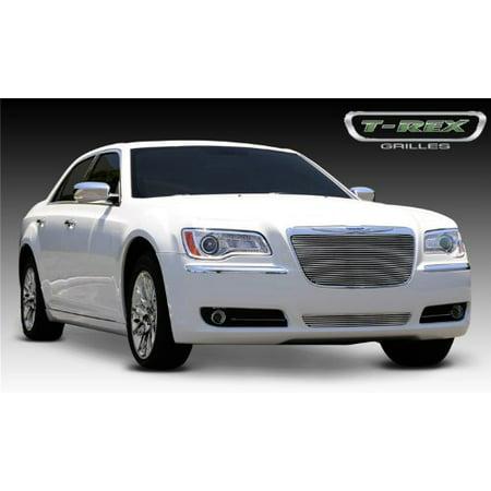 TRex Grilles 20433 Horizontal Aluminum Polished Finish Billet Grille Insert for Chrysler 300