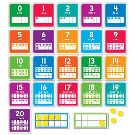 Scholastic Teaching Resources SC-834492BN 0-20 Numbers Bulletin Board Set - Set of 2 - image 1 of 1