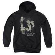 The Munsters American Gothic Big Boys Pullover Hoodie