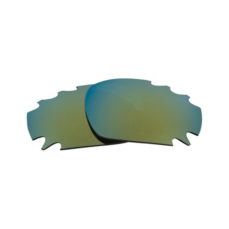 Martini Racing Sunglasses (VENTED RACING JACKET Replacement Lenses Green by SEEK fits OAKLEY)
