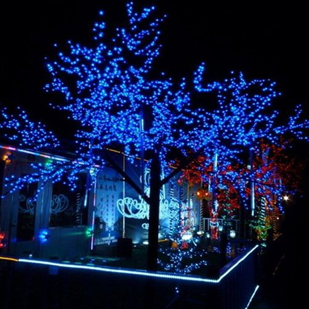 100 Led 10m Christmas Wedding Multicolor Multi Mix Color Changing RGB Party Fairy String Lights with 8 Function Controller - image 6 of 7