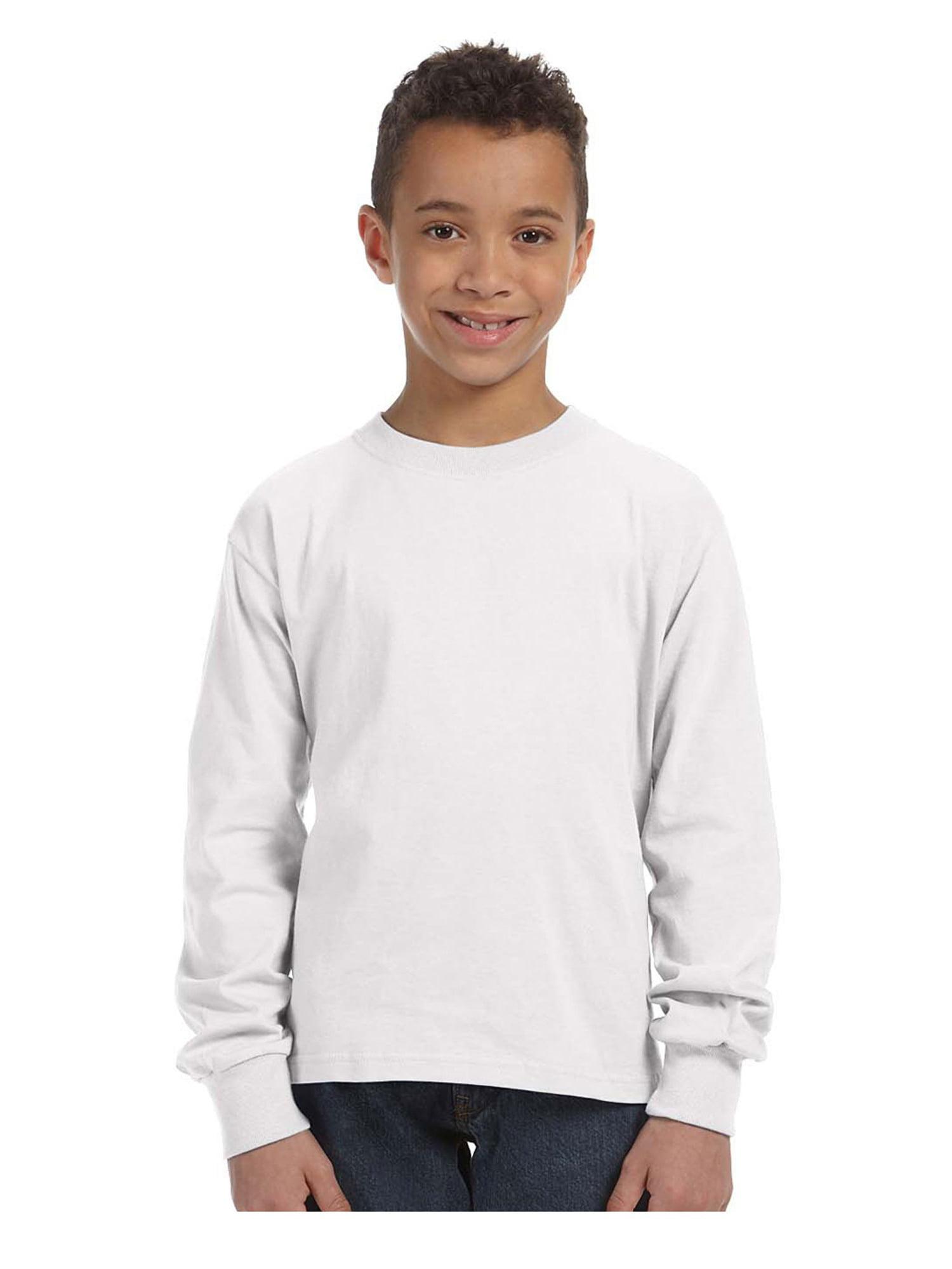 Fruit of the Loom Big Boy's Crewneck T-Shirt, Style 4930B