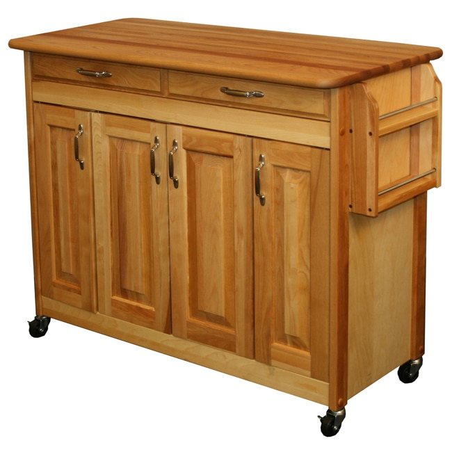 Catskill Craftsman  Butcher Block Kitchen Island