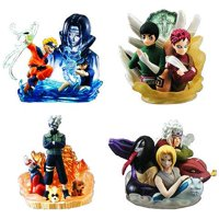 Naruto Set of 4 Mini PVC Busts