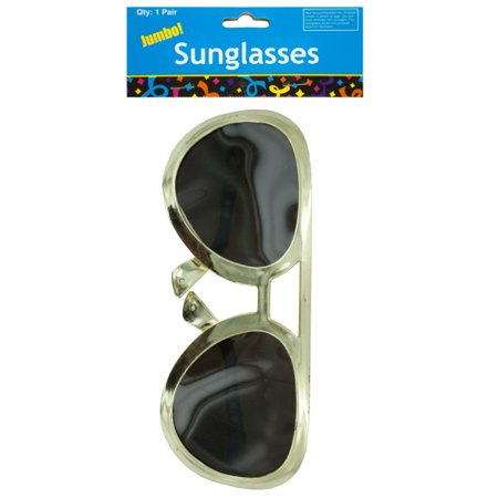 Jumbo Rock Star Party Sunglasses (Pack Of 24) for $<!---->