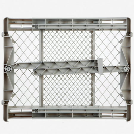North States Top-Notch Pressure Mounted Pet Gate White 28
