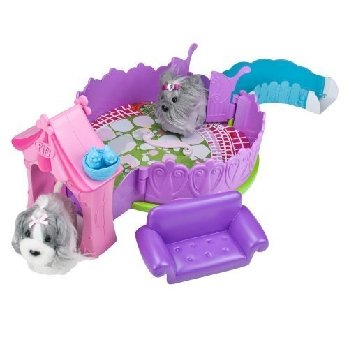 Zhu Zhu Puppies The Posh Puppy Playhouse Puppies Not Included