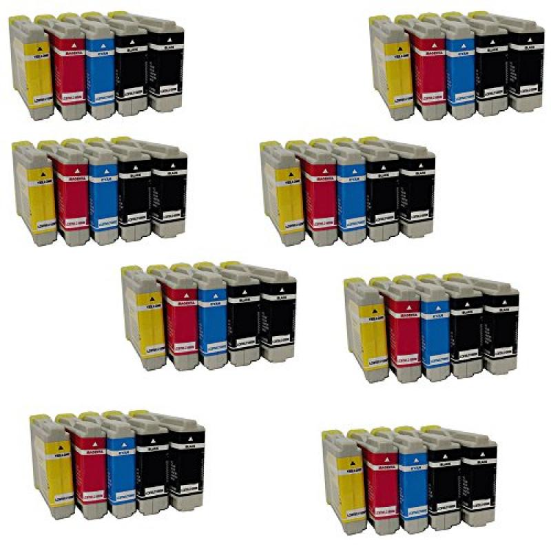HOTCOLOR(TM) Value Ink Pack LC51 LC10 LC37 LC57 LC970 LC1...
