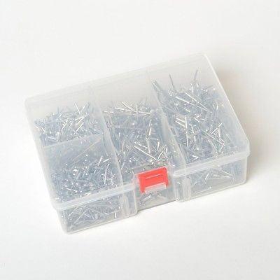 Box of Assorted Aluminum Pop Rivets
