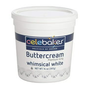 CK Products Celebakes Whimsical White Premium Buttercream Icing 14 Ounce (397 Grams)