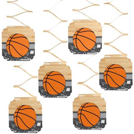 Basketball Birthday Decorations (Nothin' But Net - Basketball - Party Hanging Decorations - 6)
