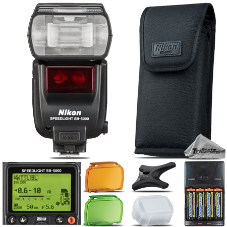 Nikon SB-5000 AF Speedlight Flash for D3300 D5500 D7200 D500 D610 D750 D810