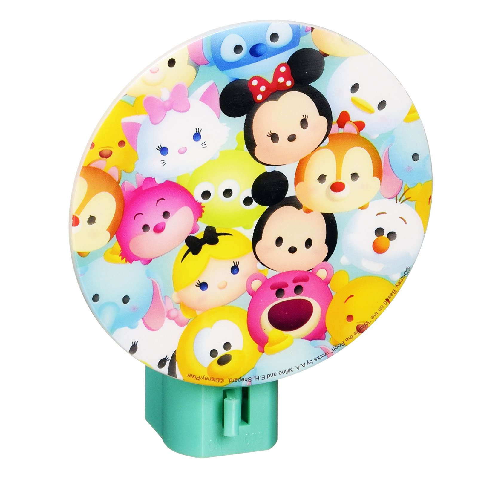 Disney Tsum Tsum Night Light Kids Bedroom Home Decor Minnie Mickey (3 Styles)