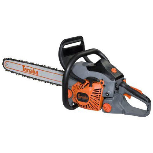 Tanaka TCS40EA18 40cc 18 in. Rear Handle Gas Chainsaw with S-Start