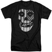 Misfits Fiend Flag Mens Big And Tall Shirt