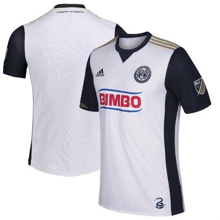 adidas Men's MLS Team Jersey Crew Neck, Philadelphia Union- White