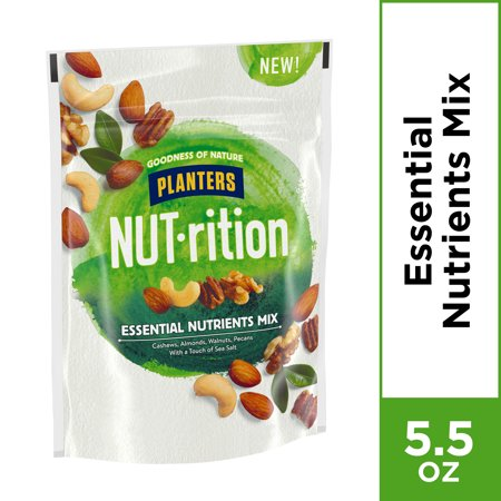 Planters NUT-rition Essential Nutrients Trail Mix, 5.5 oz Bag