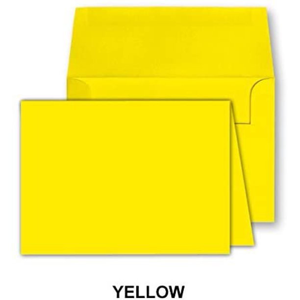 blank color greeting fold over cards uncoated 4 12 x 6