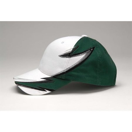 Image of Adams Score Cap - White/Forest - One Size