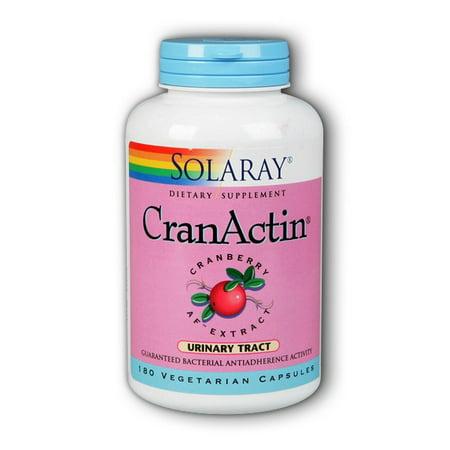 Solaray CranActin Cranberry AF Extract 180 Vegetarian Capsules