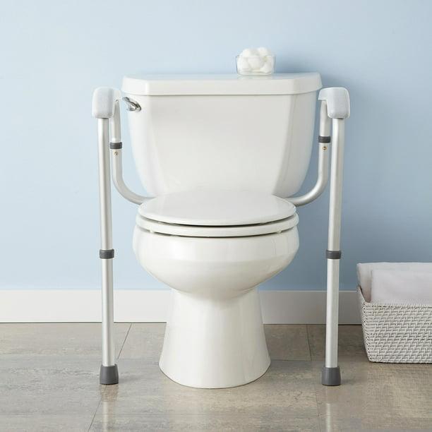 Yescom Adjustable Toilet Safety Frame Rail 375lbs Grab Bar Support Assist For Elderly Seniors Handicap Disabled Walmart Com Walmart Com