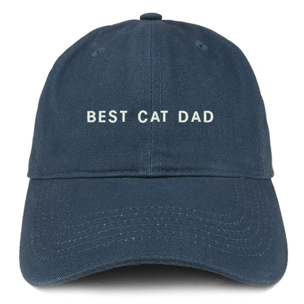 Trendy Apparel Shop Best Cat Dad Embroidered Soft Cotton Dad Hat - Black -  Walmart.com c53edfcc4d6b