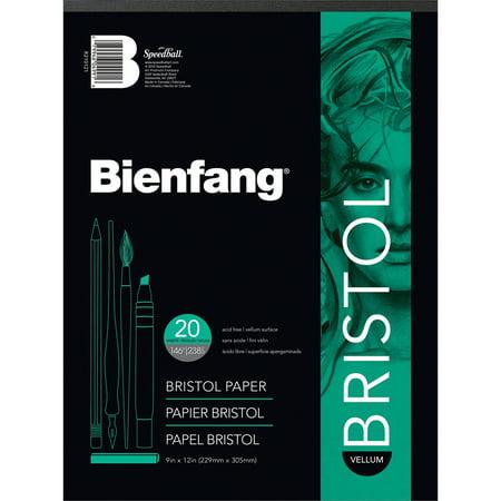 Drafting Accessories - Bienfang 11 x 14 Vellum Finish White Drawing Bristol Board Pads