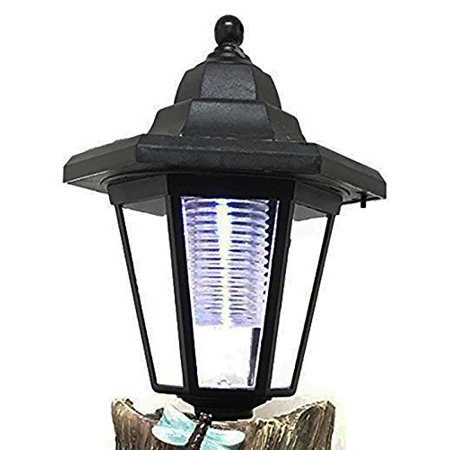 Atlantic Collectibles Fixed Position Plastic Solar LED Lantern Decorative Replacement For Garden Light Statues ()