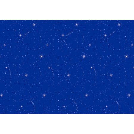 Pacon Fadeless Bulletin Board Paper, 4-Feet by 50-Feet, Night Sky (56225) ()