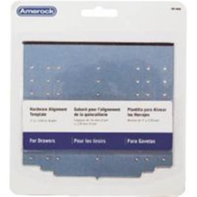Amerock Corp Template Cabinet Door/Drawer TMPDRWR - image 1 of 1