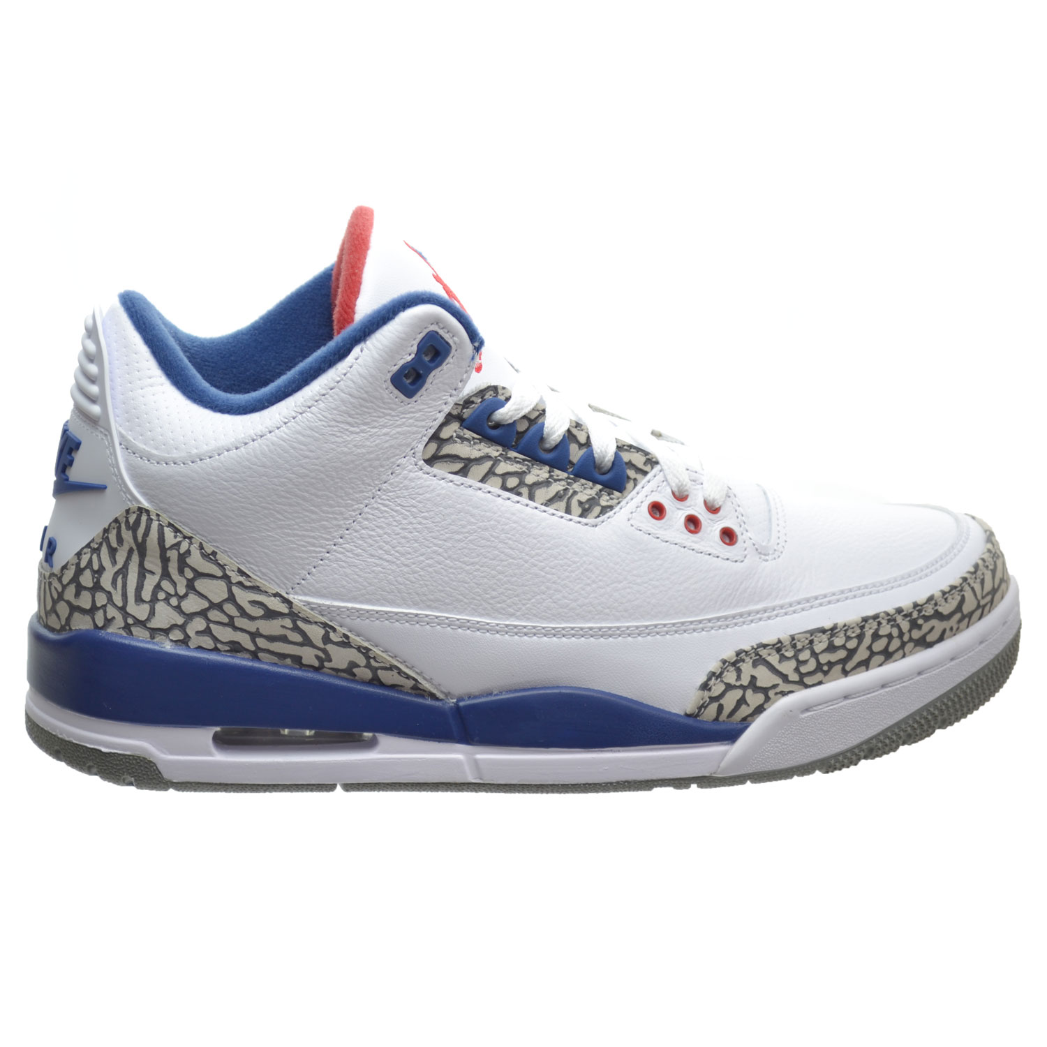 Air Jordan 3 Retro OG Men's Shoes White/Fire Red/True Blue 854262-106