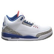 Air Jordan 3 Retro OG Men's Shoes White/Fire Red/True Blue 854262-