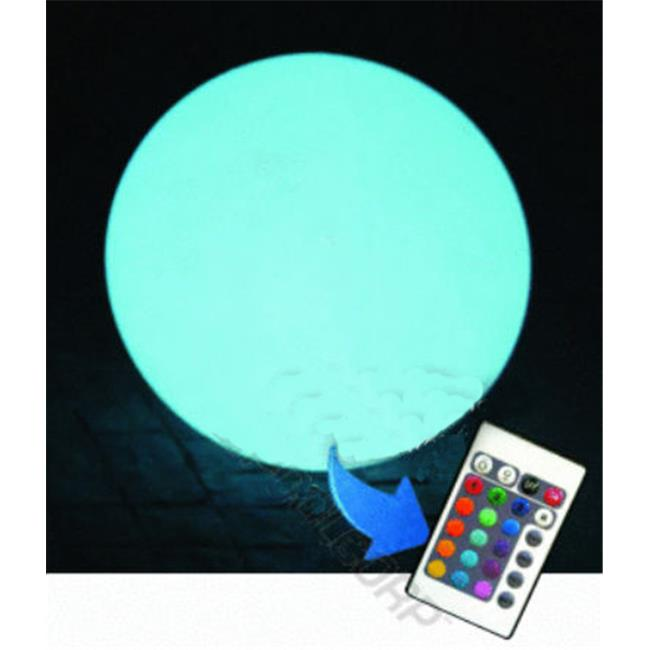 Main Access 131792 15 inch Ovoid Led Ball with Remote