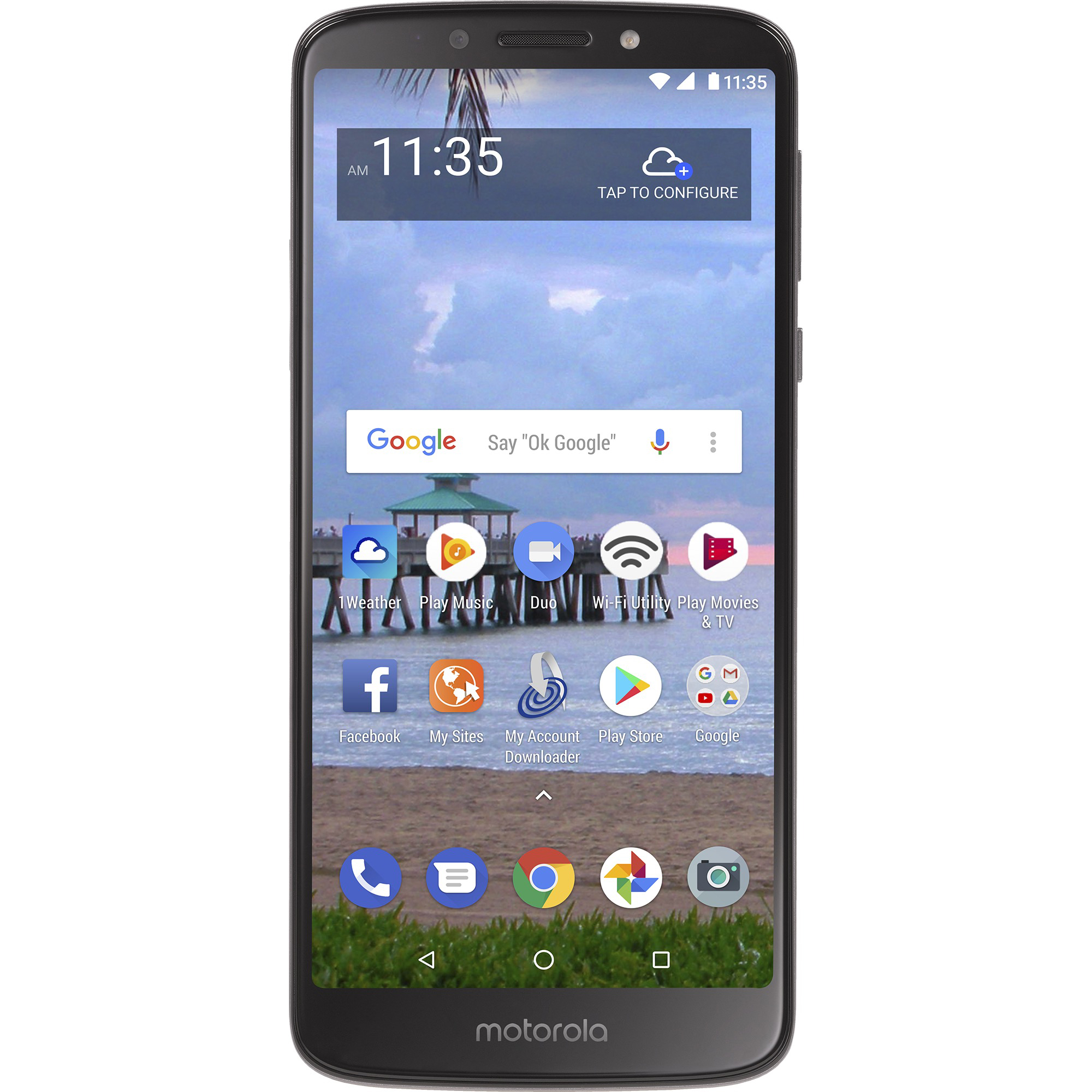 Walmart Family Mobile Motorola e5 Prepaid Smartphone