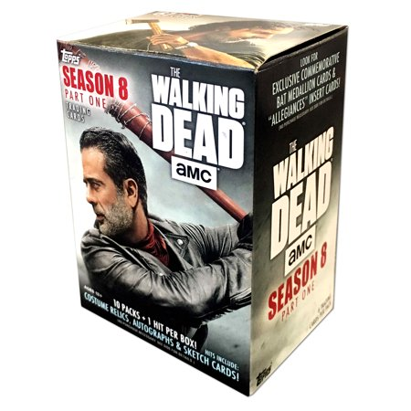 - Walking Dead Season 8 Value Box Trading Cards