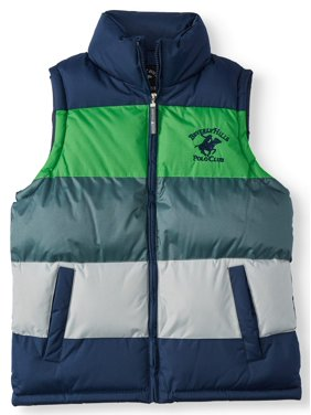 Beverly Hills Polo Club Colorblock Puffer Vest (Little Boys & Big Boys)