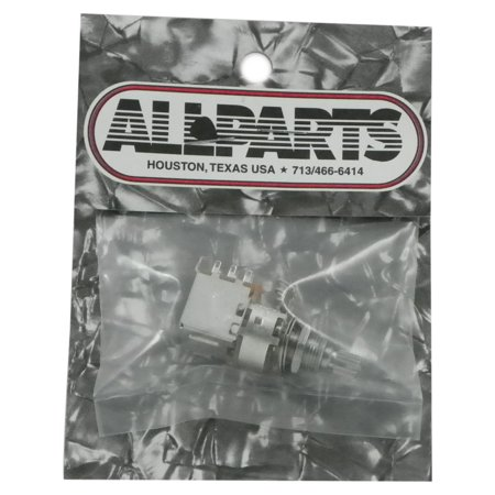 500k Audio Pot - All Parts EP 0286-000 500K A Push/Pull Audio Taper Pot, 500K Push-Pull Pot By Allparts
