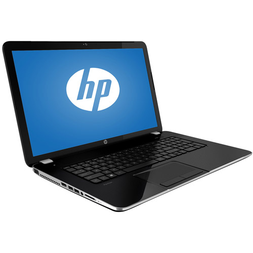 "HP Pavilion Silver 17-e037cl Laptop PC 17.3"" with AMD Elite A8-5550M Accelerated Processor, 6GB Memory, 750GB Hard Drive and Windows 8"