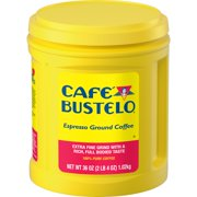 Caf Bustelo Espresso Ground Coffee, Dark Roast, 36-Ounce Canister
