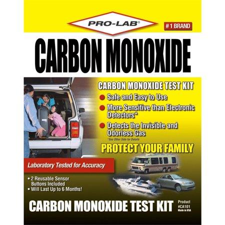 PRO-LAB Carbon Monoxide Test Kit