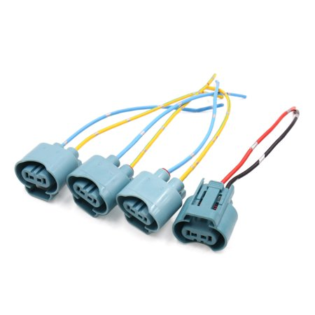Pleasing 4Pcs 9005 Fog Light Lamp Bulb Socket Wiring Harness Connector Holder Wiring Cloud Tziciuggs Outletorg