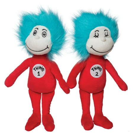 Manhattan Toy Dr. Seuss Thing 1 & Thing 2 Plush Toy - Dr Seuess