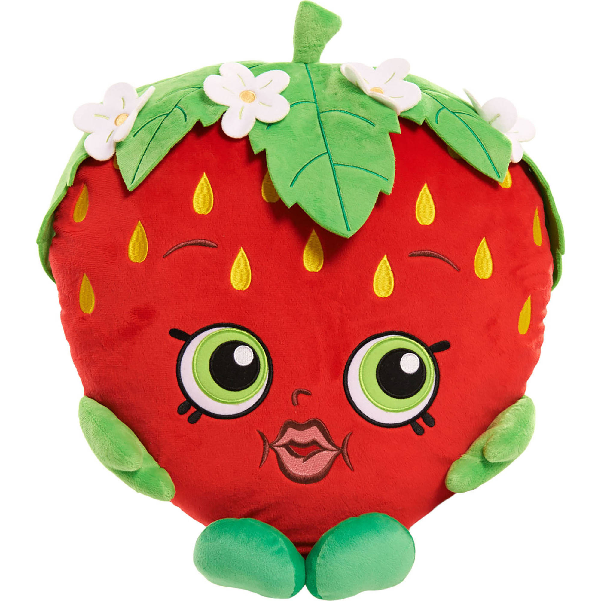 Shopkins Cuddle Plush, Strawberry Kiss